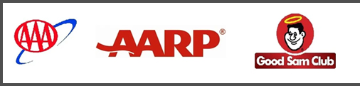aaa - aarp - good sam discounts accepted at ragans family campground in madison fl